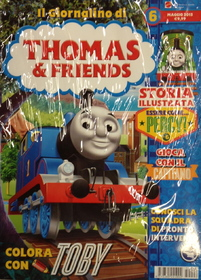 Il Giornalino di Thomas & Friends n. 6 + DVD Tale of the Brave / Dinos And Discoveries