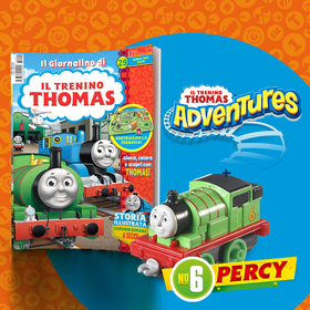 Il Giornalino di Thomas & Friends n. 29 + Percy (Adventures)