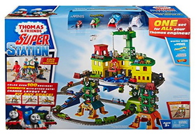 THOMAS SUPER STATION PLAYSET (ADVENTURES, WOOD, TRACKMASTER & MINIS)