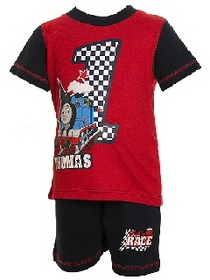 THOMAS T-SHIRT & COTTON SHORTS (1-2 anni)